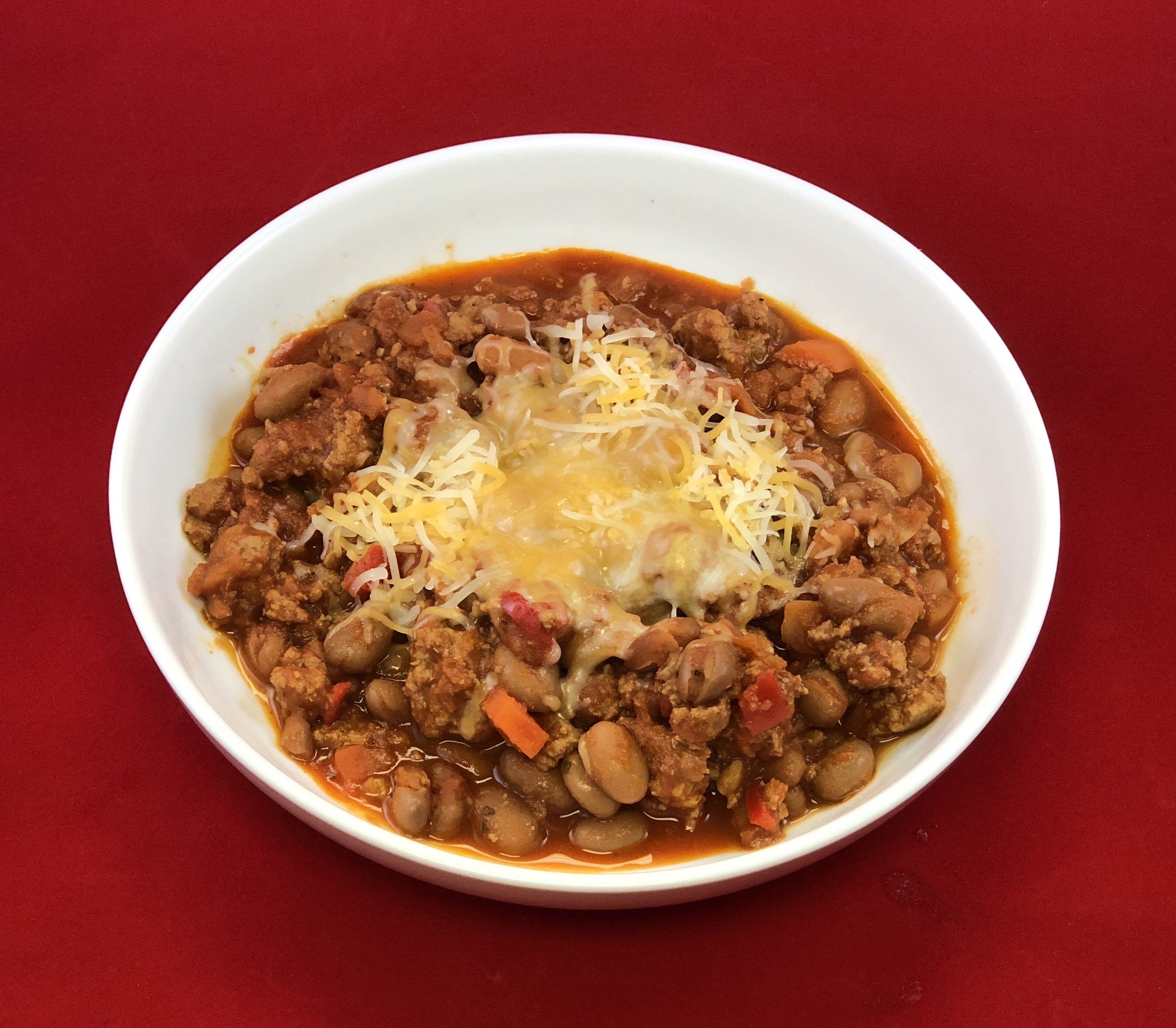 Pinto and Turkey Chilli