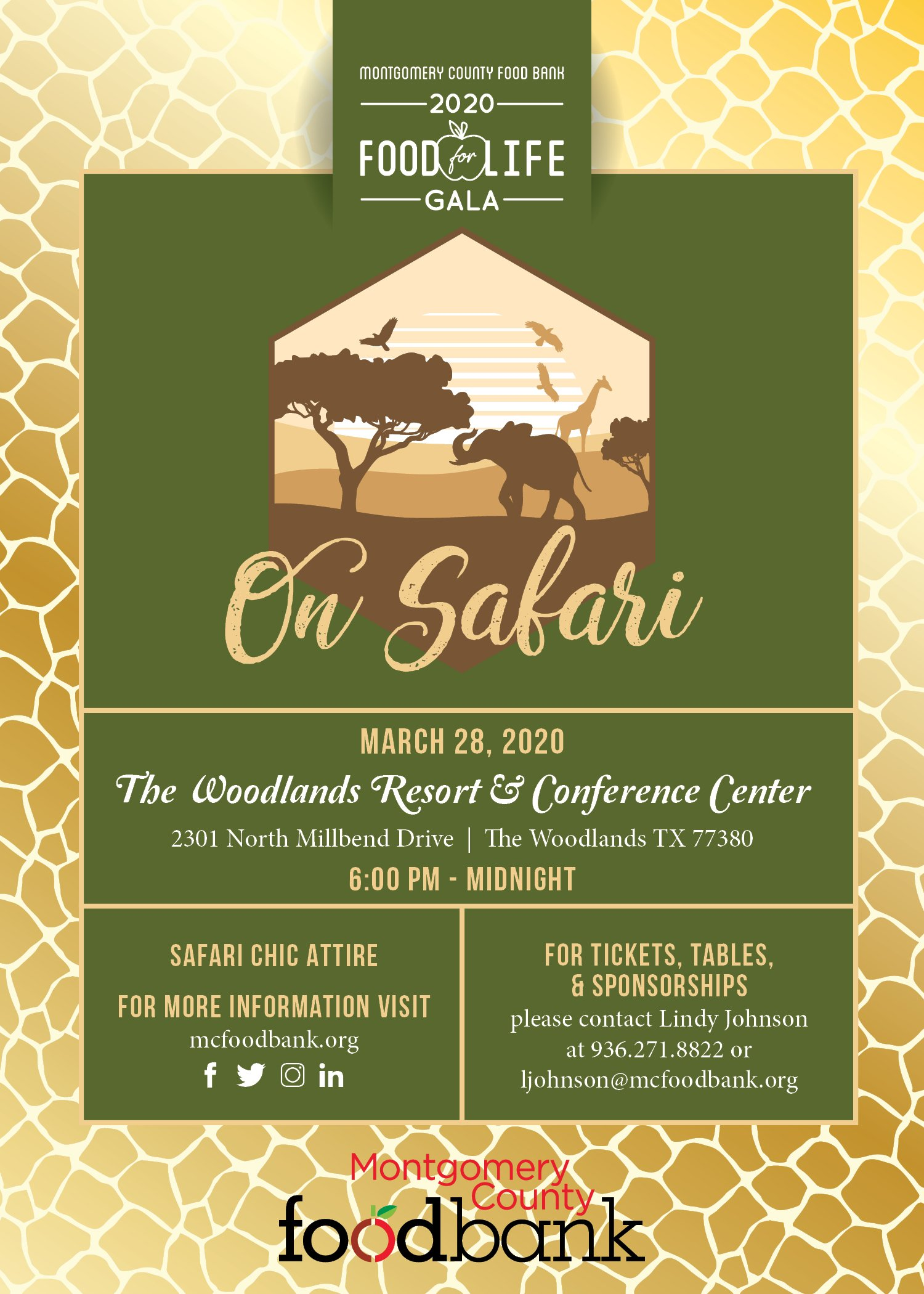 On Safari Food For Life Gala