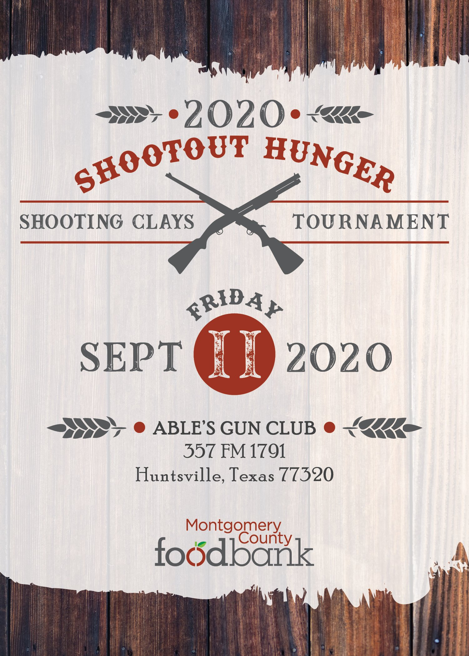 Shootout Hunger Save the Date 2020