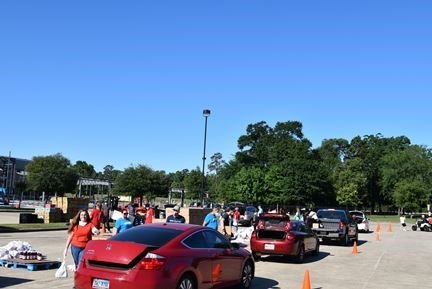 Mobile Food Distribution at the Ark Church