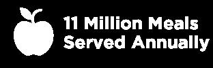 11 million meals served